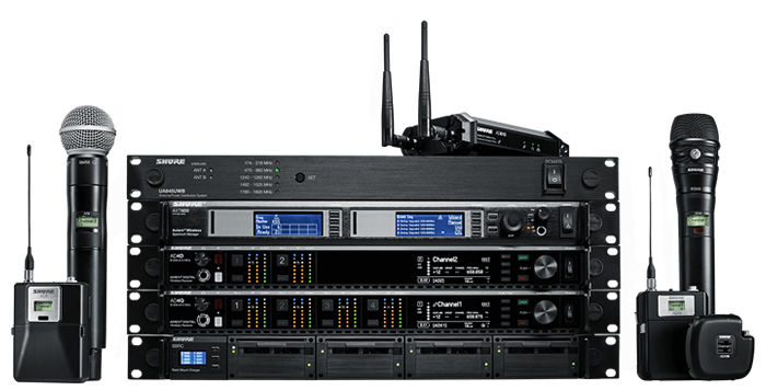 Shure Axient Digital Product Family