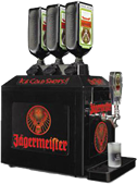 Hire a Jagermeister Machines