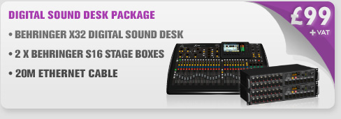london speaker hire behringer x32 digital sound desk mixer. Black Bedroom Furniture Sets. Home Design Ideas
