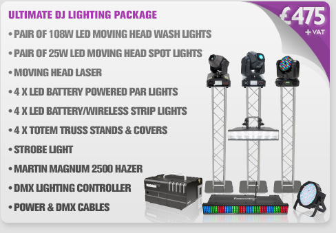 Ultimate DJ Lighting Package